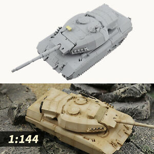 1:144 Mini Plastic Tank Building Toys Sand Table Games Army for Kids Gifts