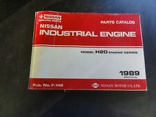 Nissan H20 Industrial Engine Parts Catalog Manual   F-142