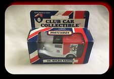 Matchbox AFL Club Car 1995 Ford Model A St Kilda Saints