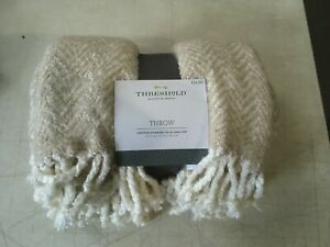 "Threshold Throw Blanket Certified Standard 100 by Oeko-Tex 50"" x 60"" BSOFT1"
