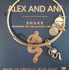 ALEX AND ANI SNAKE RAFAELIAN GOLD BRACELET NEW