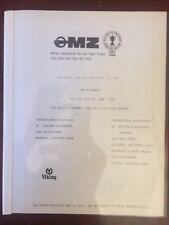 MZ ETS 175 250 Parts Tools Catalog 1968 1969 1970 1971 Enduro Cross Country