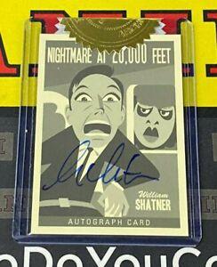 2020 Twilight Zone Archives William Shatner as Bob Wilson Portfolio Autograph!