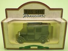 LLEDO Days Gone Premier 47001 1933 AUSTIN TAXI BLACK die cast metal model MINT