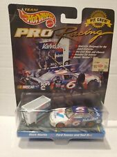 1998 HOT WHEELS RACING DELUXE PIT CREW MARK MARTIN 6 FORD & VALVOLINE TOOL BOX