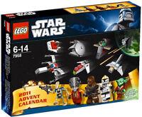 LEGO ~ 2011 STAR WARS ADVENT CALENDAR SET ~ 7958