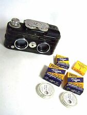 Vintage 1950s VIEWMASTER PERSONAL 3D CAMERA w/ Tiffin Filters & Retaining Rings