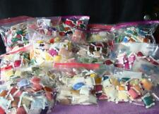 Almost 10lbs of DMC + Cross Stitch Embroidery Floss Carded & Numbered + Skeins