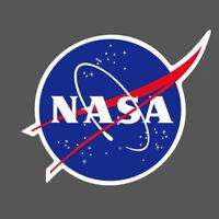 NASA Logo Vinyl Sticker Skateboard Luggage Laptop Phone Guitar Decal 9x6cm H0597
