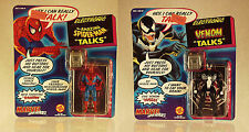 MARVEL SUPER HEROES | AMAZING SPIDER-MAN -&- VENOM TALKS | ELECTRONIC | 1991