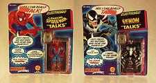 MARVEL SUPER HEROES | AMAZING SPIDER-MAN -&- VENOM TALKS | ELECTRONIC | 1991