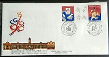 1994 Malaysia XVI Commonwealth Games 2v Stamps FDC (Melaka Cancellation) Lot B