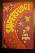 SUPERFUDGE by Judy Blume Young Adult Novel Weekly Reader Book VTG 1980