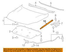 Chevrolet GM OEM 13-15 Malibu Hood-Lift Support Strut Shock Prop Arm 25931541