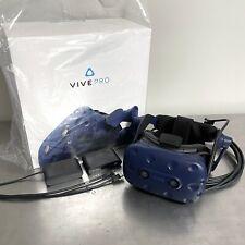 HTC Vive Pro VR Virtual Reality Headset HMD & Link Box Blue IN BOX
