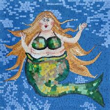 Mosaic Designs - Green Mermaid