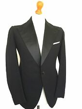 Mens Bespoke vintage  Edwardian 1920's Black Tie DJ Dinner jacket Size 38 (DJ233