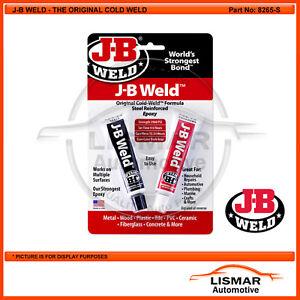 J-B WELD, The original cold weld 2 part Epoxy Adhesive system 56.8g - JB 8265-S