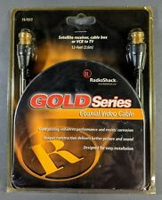 RadioShack ~ Gold Series Coaxial Video Cable 12 Feet (15-1517) **NEW**