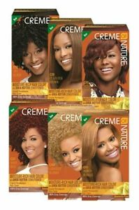 Creme Of Nature Dye Moisture-Rich Hair Colour With Shea Butter