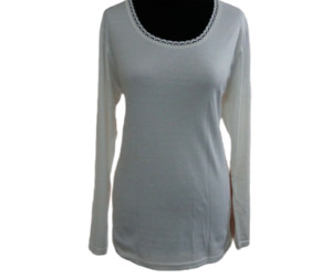 Ladies Thermal Long Sleeve vest Top  Superior Quality Brushed inside