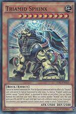 YU-GI-OH CARD: TRIAMID SPHINX - SUPER RARE - TDIL-EN030