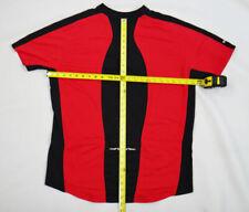 Pearl IZUMI XXL 2xl red black bike jersey short sleeve men zip stripe riding