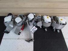 2010-2014 Silverado 2500 3500 Crew Cab Set of 5 Seat Belts Gray Option AN3