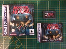 GAME BOY GAMEBOY ADVANCE GBA BOXED BOITE THQ MONSTER HOUSE AGB-BQ7P-UKV