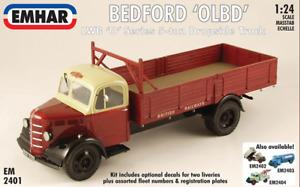 EMHAR 2401 - Bedford 'OLBD' O Series LWB 5 Ton Dropside Truck 1/24 Scale - T48