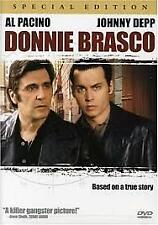 DONNIE BRASCO - SPECIAL EDITION (DVD) REGION-1, LIKE NEW, FREE POST IN AUSTRALIA