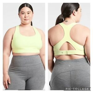 New! Athleta Ultimate Bra in SuperSonic D-DD Tequila Green SIZE 2X #531117