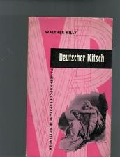 Walther Killy - Deutscher Kitsch - 1962