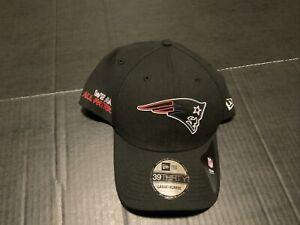 New England Patriots New Era Black 2020 NFL Draft 39THIRTY Hat Men's Size: L/XL