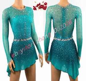 Stylish Competition Ice Figure Skating Dress/Baton Dance Twirling Tap Costume