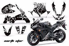 AMR Racing Graphics Decal Wrap Kit Yamaha R1 Street Bike 2004-2005 NORTHSTAR W