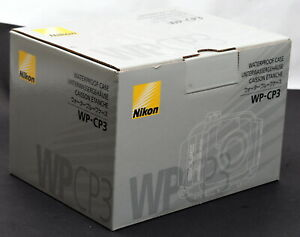 Nikon WP-CP3 Waterproof Case for Coolpix 4600 & Coolpix 5600 Cameras - Brand New