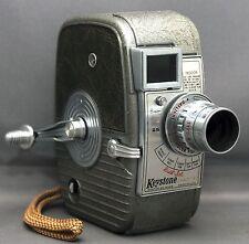 KEYSTONE Dial-Set Capri 8mm Vintage Movie Camera ELGEET f/1.8 12.5mm USA
