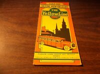 1930's YELLOW LINE SEEING NEW ORLEANS  BROCHURE