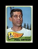 1965 Topps Baseball #152 Phil Ortega (Senators) NM