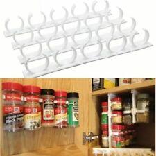 Küchenregal Gewürzständer Ordnung Weiß Gewürzregal Gewürzbehälter Regal 4 Stück