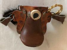 Western Southwest Saddle Christmas Ornament tooled leather Columbia