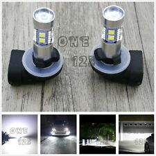 Super Bright 881 889 6000K White 55W CREE LED Fog Light Conversion Bulbs Kit