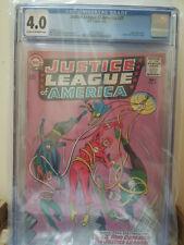 Justice League of America #27 CGC 4.0 Batman Superman Flash Wonder Woman