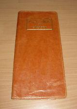 Antique Genuine Leather War Bond Wallet & Register Redi-Record Holder
