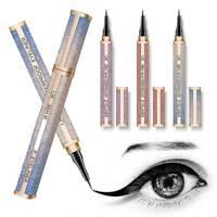 QIC Starry Sky Waterproof Eyeliner Liquid Eye Liner Pen Pencil Cosmetics Makeup