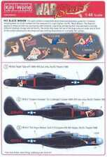 Kits World Decals 1/48 NORTHROP P-61 BLACK WIDOW Night Fighter