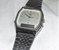 Vintage Casio Mens Vintage AQ-340 309 Digi Ana LCD Digital Watch Needs Battery