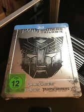 Transformers Trilogy 1-3  STEELBOOK (Blu-ray, Germany) RARE OOP New/Sealed