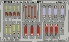 EDUARD 1/48 ETCHED DETAILS 49031 SEATBELTS FRANCE WWI **FREE POSTAGE WITH KIT**